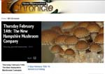 Watch WMUR's Chronicle 7PM Special on New Hampshire Mushroom Company